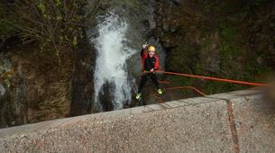 Canyoning-Imst-Beginner's canyoning at Alpine Roses Gorge in the Tirol-3