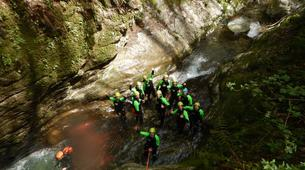 Canyoning-Castelnuovo di Garfagnana-Rio Selvano canyon in Tuscany-5