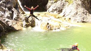 Canyoning-Imst-Adventure canyoning at Plansee Gorge in the Tirol-8
