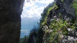 Canyoning-Imst-Xtreme canyoning at Upper Rose Garden Gorge in the Tirol-5