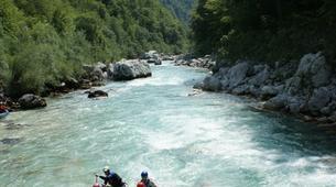 Rafting-Bovec-Rafting on the Soča River near Bovec-3