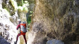Canyoning-Imst-Xtreme canyoning at Upper Rose Garden Gorge in the Tirol-4