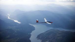 Scenic Flights-Pra Loup, Espace Lumière-Glider flight above the Ubaye Valley, Barcelonnette-2