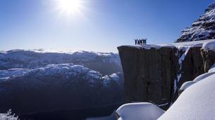 Snowshoeing-Stavanger-Winter/Spring Hike to Preikestolen (Pulpit Rock) in Ryfylke-4