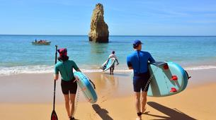 Stand up Paddle-Armação de Pêra-SUP excursion to the Benagil Caves-2