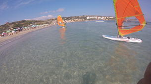 Windsurf-Malte-Beginner Windsurfing lessons and courses in Malta-5