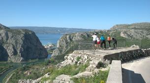 Mountain bike-Omis-Bike tour in Omis, Dalmatia-2