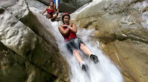 Canyoning-Laino Borgo-Canyoning down river Iannello in Laino Borgo, Calabria-3