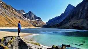 Hiking / Trekking-Lofoten-Trekking and rappel excursion in Eggum, Lofoten-2