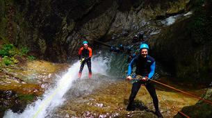 Canyoning-Annecy-Canyon d'Angon à Annecy-5