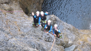 Canyoning-Lechtal-Canyoning in the Stuibenfälle, Lechtal-4