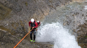 Canyoning-Lechtal-Canyoning in Wiesbach, Lechtal-4