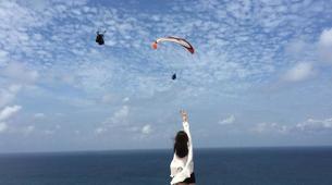Paragliding-Nusa Dua-Tandem Paragliding flight from Timbis Beach around Nusa Dua, Bali-1
