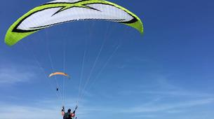 Paragliding-Nusa Dua-Tandem Paragliding flight from Timbis Beach around Nusa Dua, Bali-3