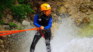 Canyoning-Salzbourg-Canyoning excursion to Fischbach Gorge near Salzburg-4