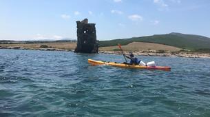 Sea Kayaking-L'Île-Rousse-Sea kayaking excursion from Lozari Beach, Corsica-1