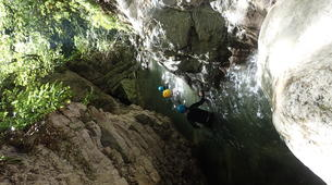Canyoning-Annecy-Canyon of Montmin near Annecy-6