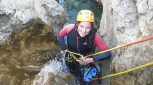 Canyoning-Malaga-Canyoning Excursion at Rio Verde Gorge near Malaga-7