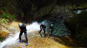 Canyoning-Annecy-Canyon d'Angon à Annecy-4
