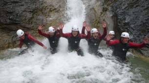 Canyoning-Lechtal-Canyoning in Wiesbach, Lechtal-1