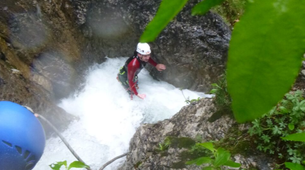 Canyoning-Lechtal-Canyoning in Wiesbach, Lechtal-2