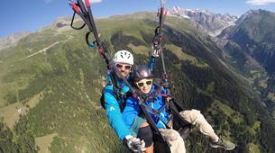 Paragliding-Brig-Glis-Tandem paragliding in Fiesch over the Aletsch Glacier-4