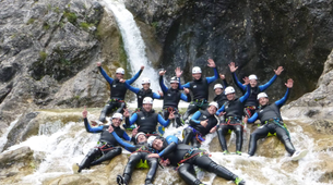 Canyoning-Lechtal-Canyoning in the Stuibenfälle, Lechtal-6