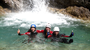 Canyoning-Lechtal-White water swimming, Lechtal-5