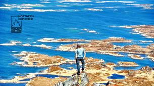 Hiking / Trekking-Lofoten-Trekking and rappel excursion in Eggum, Lofoten-6