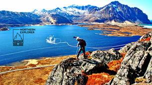 Hiking / Trekking-Lofoten-Trekking and rappel excursion in Eggum, Lofoten-3