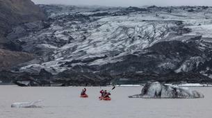 Kayaking-Reykjavik-Kayak in Sólheimajökull Glacier Lagoon-4