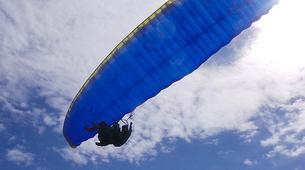Paragliding-Las Palmas de Gran Canaria-Tandem paragliding in Los Giles, Gran Canaria-3