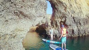 Stand Up Paddle-Lagos-Balade en SUP de Burgau jusqu'à Praia da Luz, près de Lagos-2