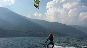 Kitesurf-Lac de Côme-Try Kite Beginner Course 1 hour-5