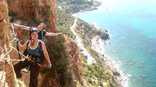 Via Ferrata-Fluminimaggiore-Via Ferrata on the Pan di Zucchero off the coast of Sardinia-5