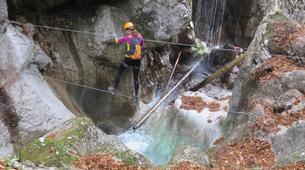 Via Ferrata-Mojstrana-Via ferrata of Hvadnik Gorge-4