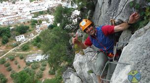 Via Ferrata-Ronda-Via Ferrata Excursion at Tajo de Ronda in Malaga-4