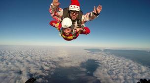 Skydiving-Boxberg-Tandem skydive between Stuttgart and Würzburg-4