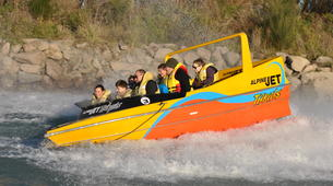 Jet Boating-Christchurch-Jet boating excursions on the Waimakariri river-2