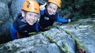 Canyoning-Lac de Garde-Family Canyoning Tour in Lake Garda-5