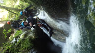 Canyoning-Grenoble-Canyon of Furon Haut in Grenoble-3
