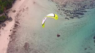 Paragliding-Nusa Dua-Tandem Paragliding flight from Timbis Beach around Nusa Dua, Bali-2