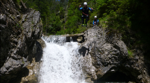 Canyoning-Lechtal-Canyoning in the Hochalpschlucht, Lechtal-2