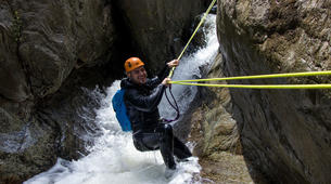 Canyoning-Céret-Gourg des Anelles canyon in Céret, Pyrenees-3