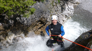 Canyoning-Lechtal-Canyoning in the Hochalpschlucht, Lechtal-1