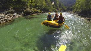 Rafting-Gesäuse National Park-Rafting on the Salza in the Gesäuse National Park-3