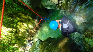 Canyoning-Grenoble-Canyon of Furon Haut in Grenoble-2