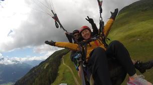 Paragliding-Brig-Glis-Tandem paragliding in Fiesch over the Aletsch Glacier-6