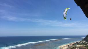 Paragliding-Nusa Dua-Tandem Paragliding flight from Timbis Beach around Nusa Dua, Bali-5