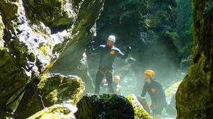 Canyoning-Salzbourg-Canyoning excursion to Strubklamm Gorge near Salzburg-5